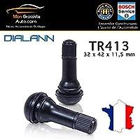 100 Stück TR412 Snap-In Reifenventile Gummiventile PKW Felgenventile Stix