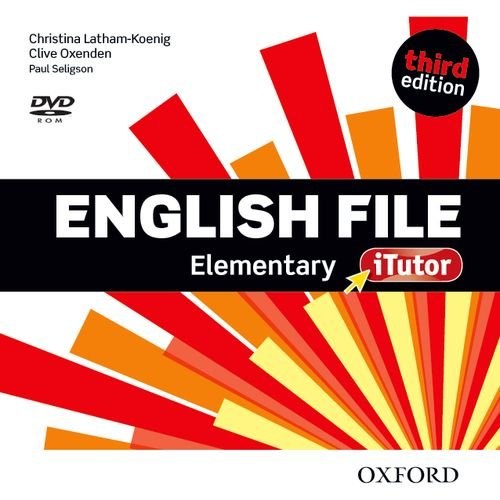 English File 3e Elementary Itutor DVD-rom (Uk)