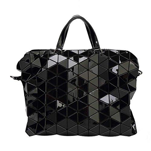Damenhandtasche Aktentasche Geometrische Umhängetasche White