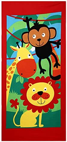 Mangeoo Gift Towel, Cartoon Character Beach Towel, Towel, Towel, Super Active Printed Towel, 70*150Cm,665,70*150, 555656