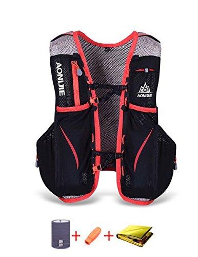 Imagen de lixada 5l deportes  vest pack para 1.5l water bag ciclismo senderismo bag al aire libre deportes l xl