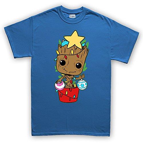 Galaxy Guard Christmas Xmas Party Tree Santa Gift T Shirt 4XL Royal Blue