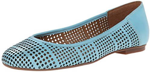 FS/NY Naru Cuir Chaussure Plate Lt Blue