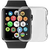 Luvvitt - Funda rígida con cierre a presión con protector de pantalla incorporado, para Apple Watch