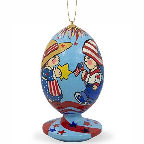 aner, auf 4. Juli USA Independence Ei Weihnachten Ornament (4. Juli Dekoration)