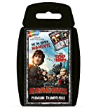 Winning Moves WIN62356 - Top Trumps: Dragons - Die 30 Momente, Kartenspiel