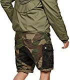 G-Star Rovic mix loose 1/2 Shorts lt aged olive/bronze green ao