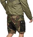 G-STAR RAW Herren Shorts/Bermudas RovicMixLoose1/2NW18, Größe:31