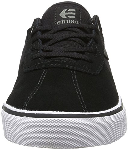 Etnies Herren Scam Vulc Low-Top Schwarz (979 , BLACK/WHITE/GUM)