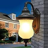 De estilo europeo, luces de jard¡§an al aire libre Jard¡§an de la pared l¡§¡émpara de pared l¡§¡émpara al aire libre impermeable balc¡§?n Villa revestimiento de pared