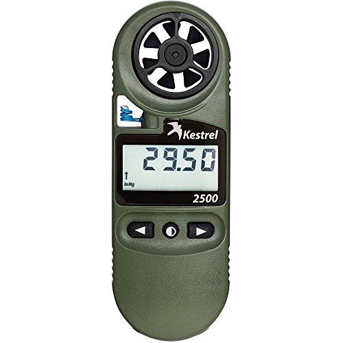 Kestrel 2500NV Pocket Weather - Estación meteorológica, Color Verde