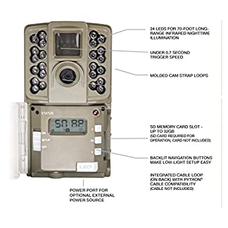 Moultrie A-Series Game Camera (2017) | All Purpose Series | 0.7 s Trigger Speed Mobile Compatible