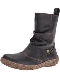 El Naturalista Damen N722 Soft Grain Black/ Nido Schlupfstiefel