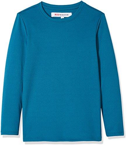 RED WAGON Jungen Atmungsaktives Sport Sweatshirt, Blau (Teal), 110 (Herstellergröße: 5 Jahre) Pullover Teal