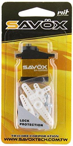 Unbekannt Savöx Mini-Servo SH-0255MG Digital-Servo Getriebe-Material Metall Stecksystem JR (Servo-getriebe)
