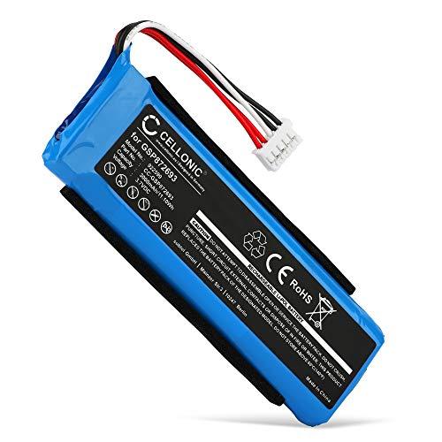 subtel® Qualitäts Akku kompatibel mit JBL Charge 3 (2016) (6000mAh) GSP1029102A Ersatzakku Batterie