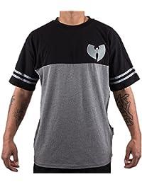 Wu Wear - Wu Tang Clan - Wu 2 Tone Shirt T-Shirt - Wu-Tang Clan Tamaño L, Color asignado Anthrazit