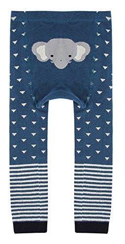 Eozy Legging Bébé Naissance Enfant Fille Garçon Thermique Pantalon Bleu 0-2 Ans