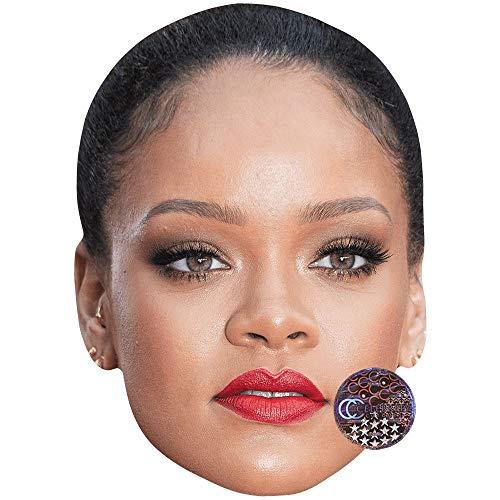 Celebrity Cutouts Rihanna (Lipstick) Big Head