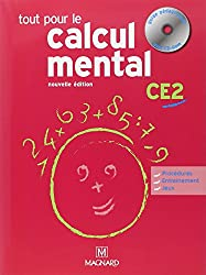 Tout pour le calcul mental CE2 (1Cédérom)