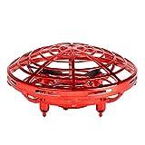 Mini drone Juguetes para niños Presión de aire fija cuatro ejes UFO platillo volante avión palma inducción inteligente