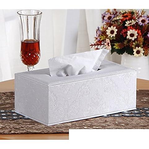 Página de inicio de caja del tejido cortical/Cajas de Kleenex/Sala caja servilleta mesa/Bandeja de coche creativo-H