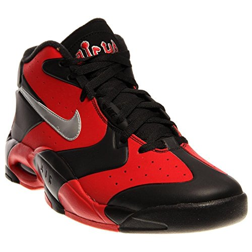 Air Up '14 s Chaussures de basket BLACK/METALLIC SILVER-UNIVERSITY RED