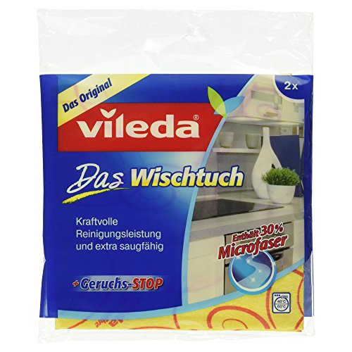 Vileda Allzwecktuch +30% Microfaser, 2 Stück