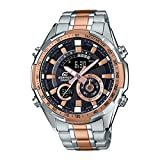 Casio Edifice Analog-Digital Black Dial Men's Watch - ERA-600SG-1A9VUDF (EX356)