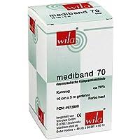 MEDIBAND 70 Kurzzugbinde 10 cmx5 m hautfarben 1 St Binden preisvergleich bei billige-tabletten.eu