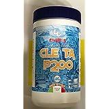 Pastillas de Cloro antialgas, 200 gr combinadas triple acción para piscina, 1 kg Bestway 124498