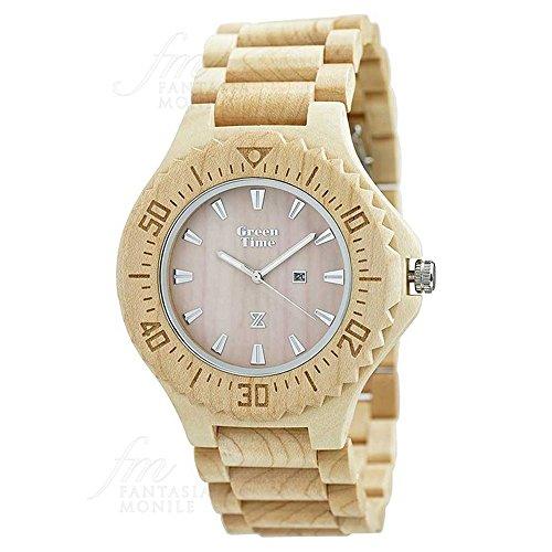 horloge-green-time-homme-bois-erable-wood-zw001b