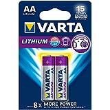 10er Set Varta mehrfachblister 2Lithium-Batterien AA LR6Mignon Professional Li-Ion)