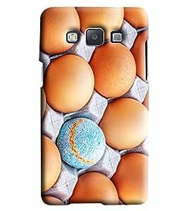 Blue Throat Orange Eggs Printed Designer Back Cover/Case For Samsung Galaxy A5
