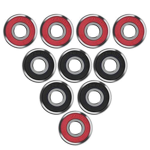 eboot-10-pezzi-cuscinetti-del-pattino-cuscinetti-skateboard-longboard-rullo-cuscinetto-608-2rs-doppi