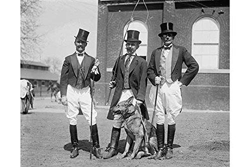 Buyenlarge 0–587–24598–0-g1827'Gesellschaft Herren Don Kostüme von ringmasters für Giclée' Circus 'Fine Art Print, 45,7x ()