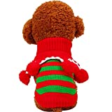 PETCIRCLE Pet Clothes Dog Sweater For Small Medium Dogs Warm Classic Sweaters for Puppy