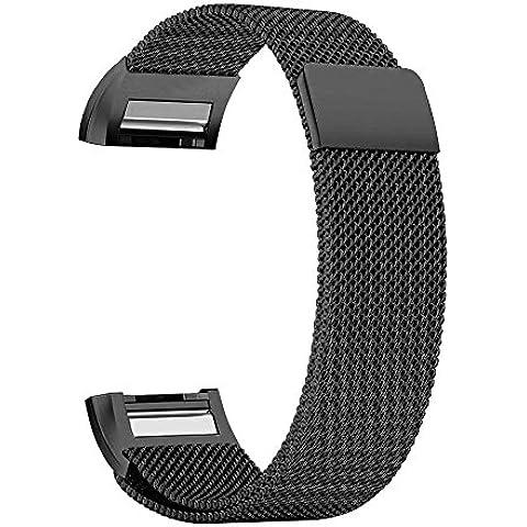Per Fitbit Charge 2Band, Milanese Loop cinturino