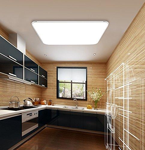 18w kaltwei led modern deckenlampe ultraslim deckenleuchte schlafzimmer k che flur wohnzimmer. Black Bedroom Furniture Sets. Home Design Ideas