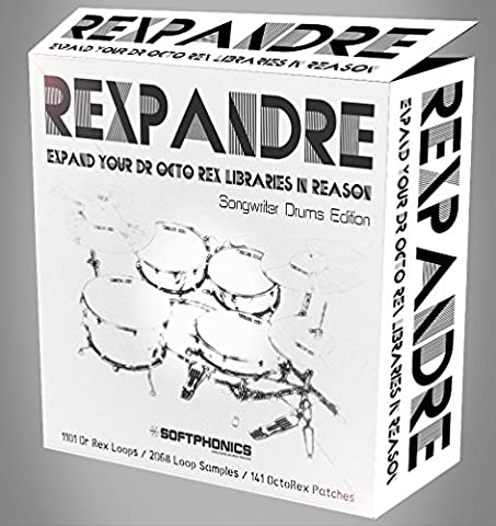 ReXpandRe - Singer Songwriter Drums - Propellerhead Reason Refill by Softphonics - 1101 Dr Rex