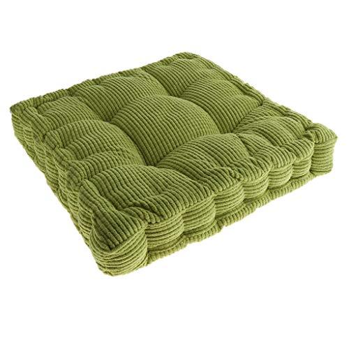B Blesiya Stuhlkissen Sitzpolster Stuhlauflage Stuhl Auflage Kissen für Esszimmerstuhl - Grün