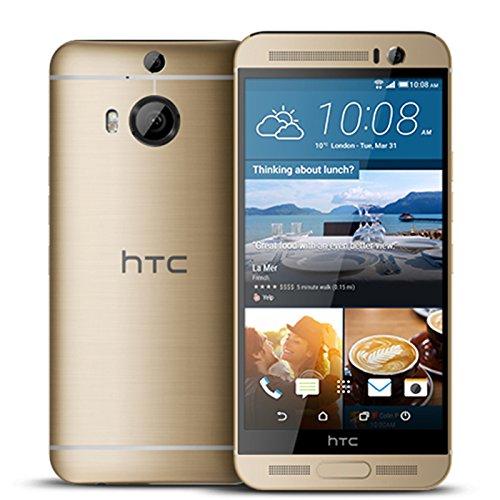 """HTC One M9 + 5.2 """"Zoll-Smartphone mit MT6595T Helio X10 Octa-Core 2.2Ghz Prozessor, 3 GB RAM und 32 GB ROM. 20MP Kamera zurück und 4 MP Frontkamera. Android 5.0. GOLD"""