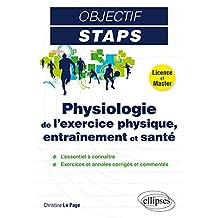 Physiologie de l'Exercice Physique Entraînement et Santé