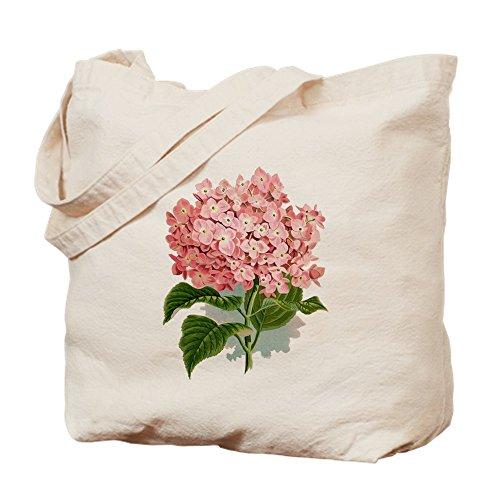 CafePress-Pink hydragea Blumen-Leinwand Natur Tasche, Reinigungstuch Einkaufstasche, canvas, khaki, S