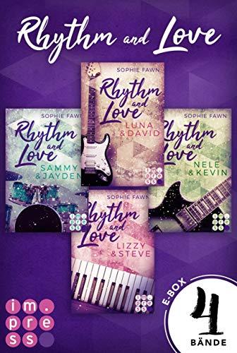 Rhythm and Love: Alle Bände der berührenden Rockstar-Romance in einer E-Box!