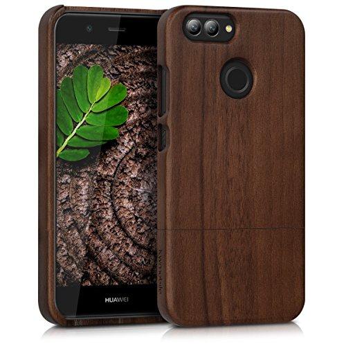 kwmobile Huawei Nova 2 Hülle - Handy Schutzhülle aus Holz - Cover Case Handyhülle für Huawei Nova 2 Nova Hängen