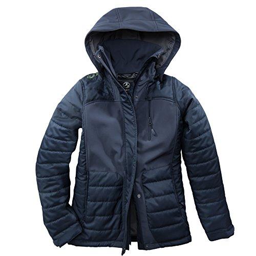 Damen Hybridjacke Softshell Jacke Übergangjacke Winterjacke modern neu