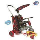 Smart Trike & Go - Triciclo per Bambini, Colore: Rosso/Nero