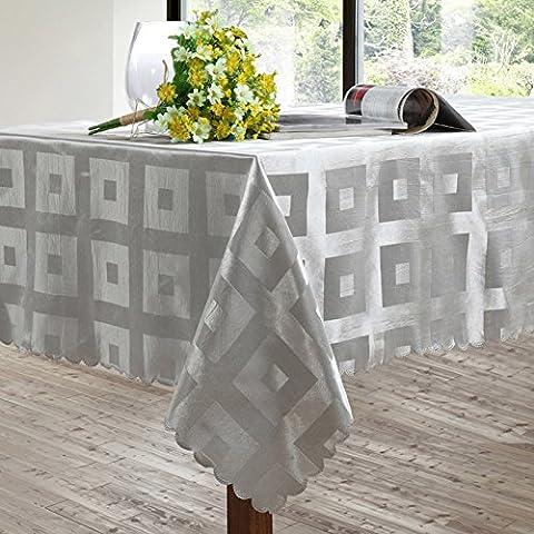 Polyester,Tischdecke,Home,Wohnzimmer,Rechteck,Quadrat,Teetisch/Wasserdicht,Ölbeständig-A 137x137cm(54x54inch)