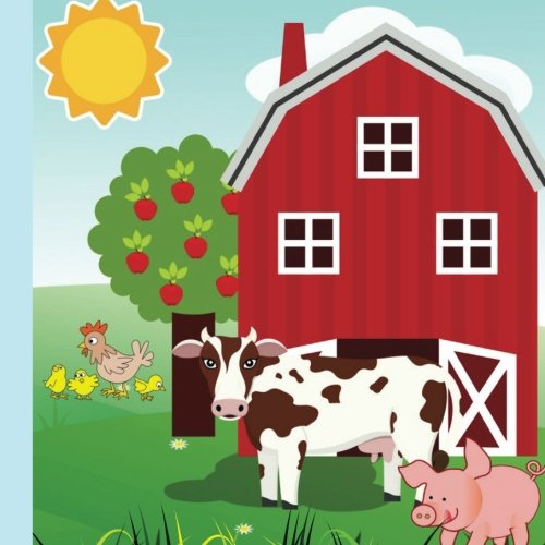 Farm Birthday Party Guest Book: Plus Printable Farm Themed Party Invitations,Thank You Cards & Gift Tracker Plus Picture Pages for a Lasting Memory ... Animals Party Supplies, Band 1) (Barn Supplies Party Animal)